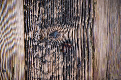 Ancient wooden Plank stock photography