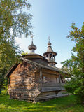 Ancient wooden Russian church. Royalty Free Stock Image