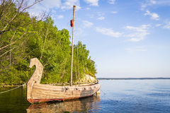 Ancient wooden ship Royalty Free Stock Photography