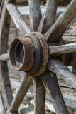 Ancient Wooden Wheel Royalty Free Stock Photo