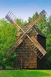 Ancient wooden windmill Royalty Free Stock Images