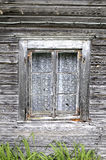 Ancient wooden window Stock Images