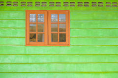 Ancient wooden window Stock Photos