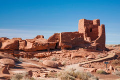 Ancient Wupatki Adobe Royalty Free Stock Images