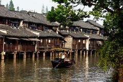 Ancient wuzhen Town Royalty Free Stock Images