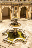 Ancient 600 year old castle in Tomar, Portugal stock photos