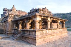 Ancient Yellamma temple at Badami Stock Images