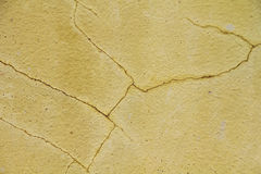 Ancient yellow wall Royalty Free Stock Photo