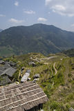 The Ancient Zhuang Village. Of LongJi, China Royalty Free Stock Photography