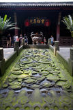 Ancient Zhuge Liang Memorial Temple Sichuan China Stock Images