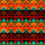 Ancient zigzag seamless pattern Stock Image