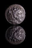 AncientCoinReflection-Alexandre Images libres de droits
