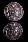 AncientCoinReflection-Atene Immagine Stock Libera da Diritti