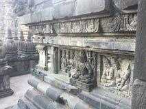 ancientness Ινδοί ναοί γλυπτά τοίχων αρχιτεκτονική Ινδονησία στοκ φωτογραφία με δικαίωμα ελεύθερης χρήσης