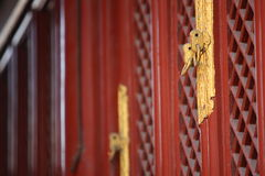 Ancientof kinesisk forntida arkitektur Arkivfoto