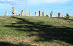 Anciernt纪念碑类似的巨石阵 库存图片