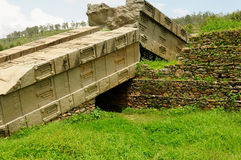 Anciet Stelae от Axum, Эфиопии Стоковое фото RF