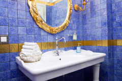 Ancinet bathroom Royalty Free Stock Photography