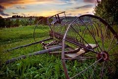 Ancinho de cavalo velho Foto de Stock
