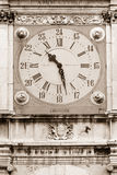 Ancint clock Royalty Free Stock Images