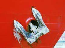 Ancla de la nave fotografía de archivo libre de regalías