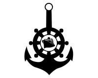 Ancla de mar Imágenes de archivo libres de regalías