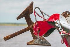 Ancla del barco imagen de archivo libre de regalías