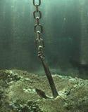 Ancla en suelo marino Foto de archivo libre de regalías