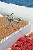 Ancla y cuerda Imagen de archivo libre de regalías