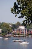 Ancladero de Annapolis Imagen de archivo libre de regalías