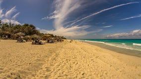 Ancon de la playa en Trinidad, Cuba Foto de archivo libre de regalías