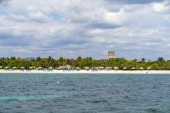 Ancon de Playa cerca de Trinidad fotografía de archivo libre de regalías