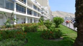 Ancon housing development 40 km  north of Lima Royalty Free Stock Photos