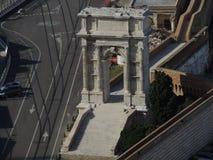 Ancona Arch of Trajan Stock Photo