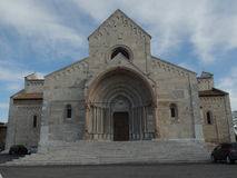 Ancona St. Ciriaco. Cathedral of St.Ciriaco in Ancona, the capital of Marche region, Italy Royalty Free Stock Image