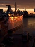 ancona ferry Стоковые Изображения RF