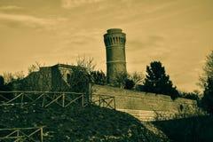 Ancona fyr Arkivfoton