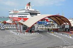Ancona harbor Royalty Free Stock Photo