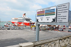 Ancona harbor day Royalty Free Stock Images