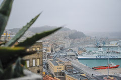 Ancona harbor, ITALY. Royalty Free Stock Photo