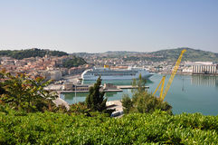 Ancona harbour Stock Photos