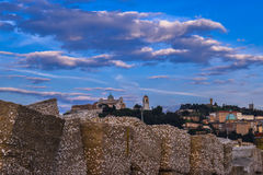 Ancona, marche, italy urban landscape Royalty Free Stock Images