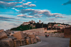 Ancona, marche, italy urban landscape Royalty Free Stock Photo