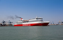 Ancona move em Italy Imagem de Stock