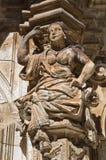 Ancona palace. Martina Franca. Puglia. Italy. Royalty Free Stock Photo