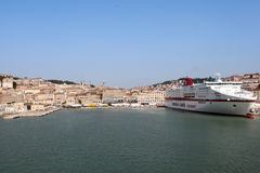 Ancona port in Italy Royalty Free Stock Image