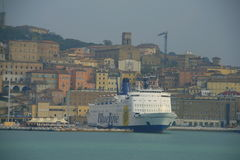 Ancona Port, Italy Royalty Free Stock Images