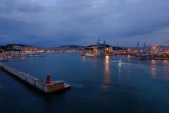 Ancona port in Italy Royalty Free Stock Image