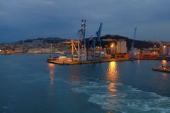 Ancona port in Italy Royalty Free Stock Photography