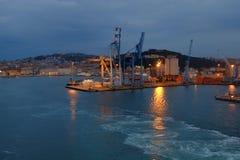 Ancona port in Italy Royalty Free Stock Photography